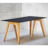 Jan Kurtz Tisch Neo mit Glas Tischplatte
