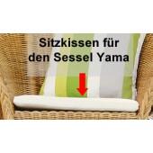 Jan Kurtz Sitzkissen Yama - Weiß