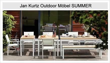 Jan Kurtz Outdoor Möbel Summer Kollektionen